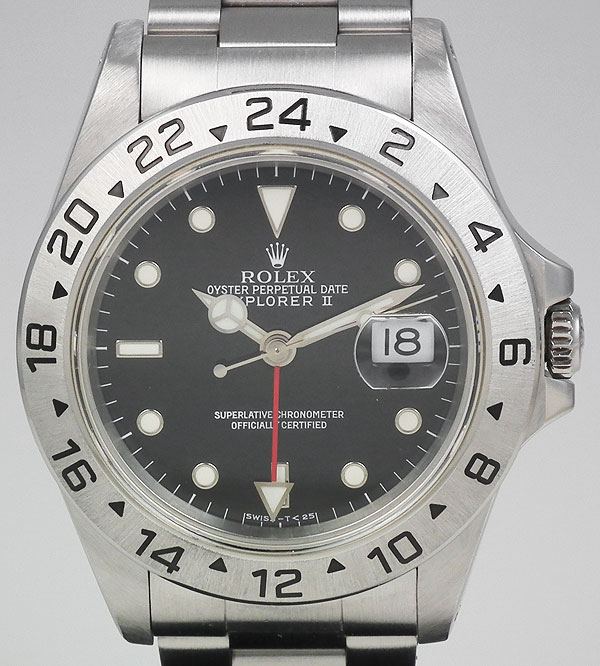 Rolex Oyster Perpetual Explorer Ii Black Dial 1993