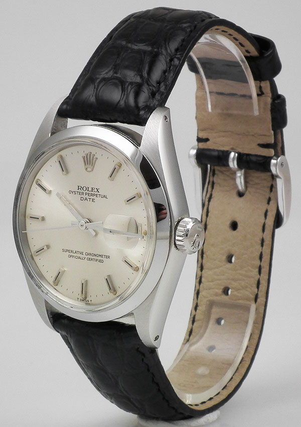 Ladies Rolex Watches Uk >> Rolex Stainless Steel Oyster Perpeptual Date - Silver Dial ...