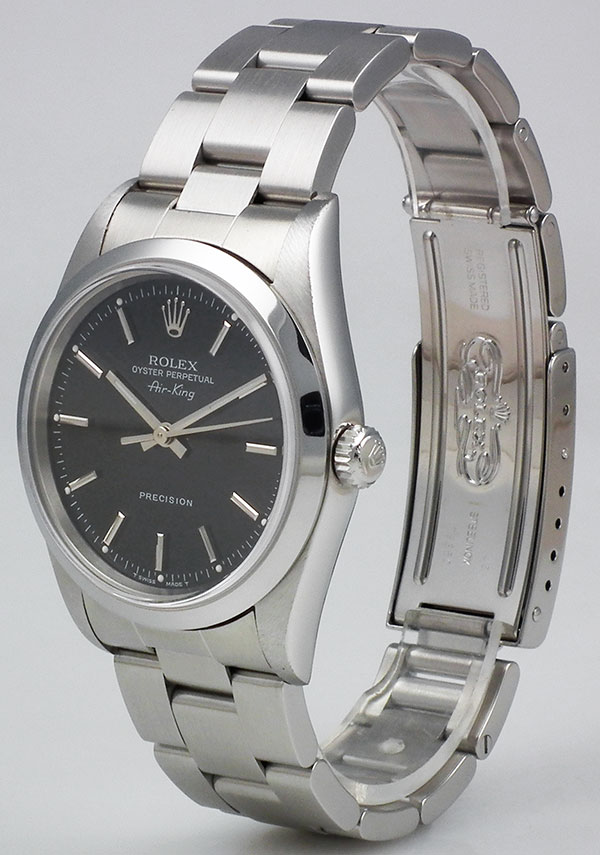 Rolex Oyster Perpetual Air,King , Black Metallic Dial 14000