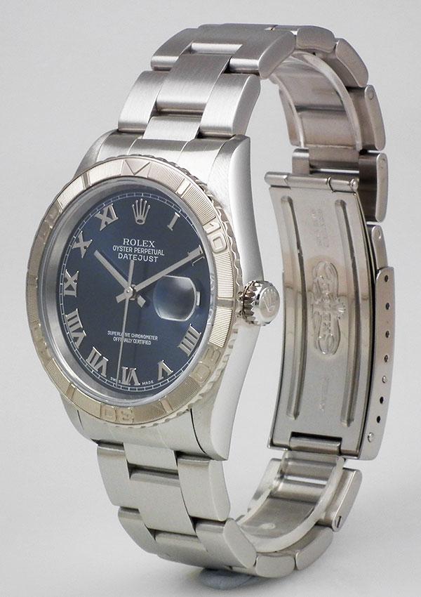 Rolex Oyster Perpetual Datejust 16234 Dark Blue Roman