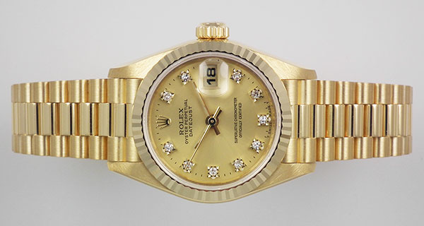 Rolex Oyster Perpetual Gold Womens