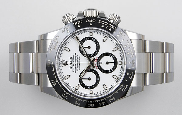 cheap for discount 483c3 07eae Rolex Oyster Perpetual Daytona 116500LN - White Dial B+P (2018)