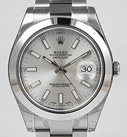 Rolex Oyster Perpetual DateJust II - 116300 - Silver Dial