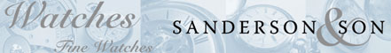 Sanderson & Son Fine Watches