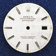 Gents Rolex Oyster Perpetual DateJust Dial - 16014 16030 16200 16220 16234